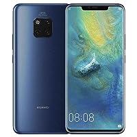 Huawei Mate 20-128GB Libre de Fabrica 4G LTE HMA-L09, Version Global Desbloqueado Azul (Azul)