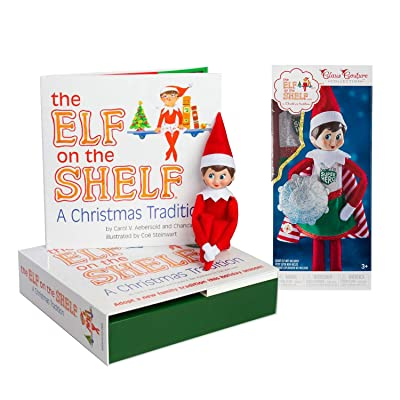 Every night this Scout Elf will return to the North Pole to say whether your family has been naughty or nice. Santa takes that information every night until Christmas Eve when he decides if you're get: Toys & Games