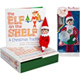 The Elf on the Shelf: A Christmas Tradition Girl Scout Elf (Blue Eyed) with Claus Couture Collection Superhero Girl Outfit