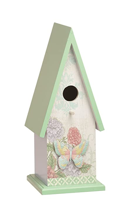 Large Outdoor Bird Houses.Transpac Weathered Wonders Bird House Large