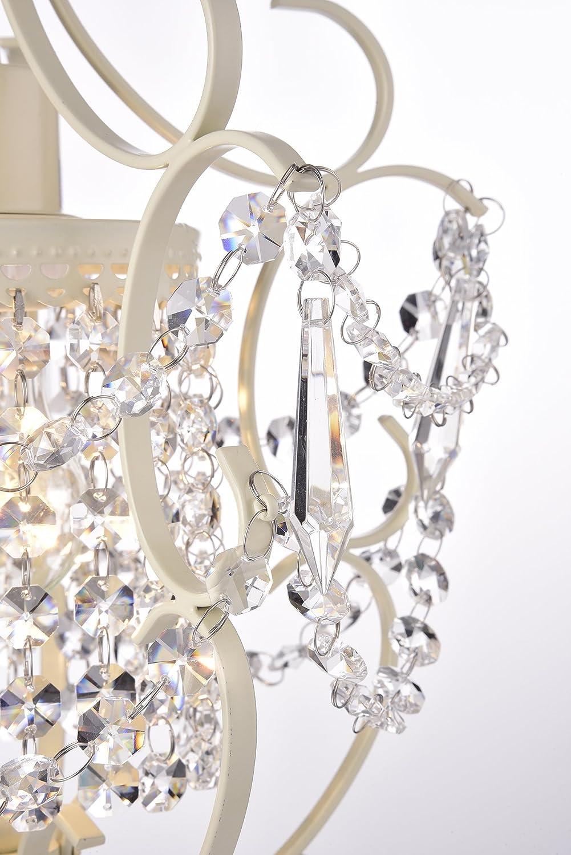 Glam Lighting Edvivi Lighting EPC5013AB Edvivi Amorette 1-Light Antique Bronze Finish Mini Pendant Chandelier Wrought Iron Ceiling Fixture
