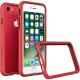 iPhone 8 Case [Also fits iPhone 7] - RhinoShield [CrashGuard] Bumper [11 Ft Drop Tested] No Bulk [ShockProof Technology] Thin Lightweight Protection - Slim Rugged Cover - [Red]