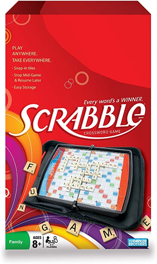 Scrabble Game Folio Travel Edition Replacement Pieces /& Parts Snap Tiles Crafts