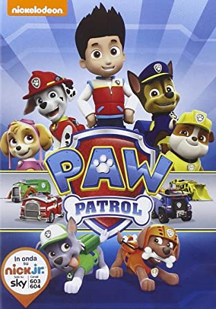 Paw patrol cartoni animati