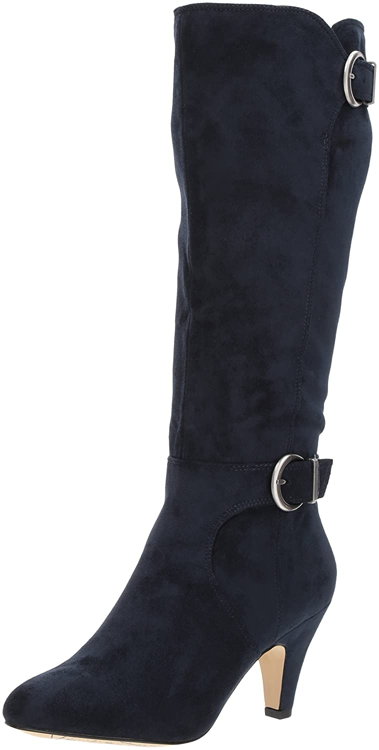 Bella Vita Women's Toni Ii Harness Boot B071RDY7WL 9.5 N US|Navy Super Suede