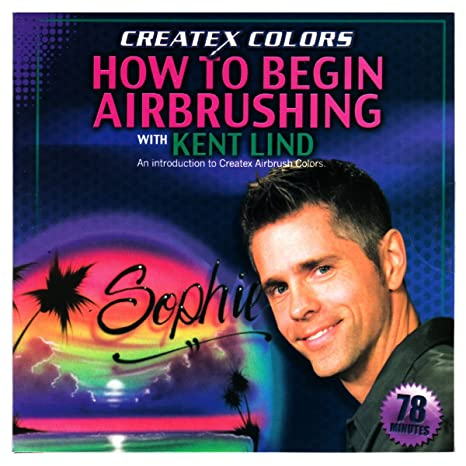 Amazon. Com: roustan body paint airbrush techniques tutorial dvd by.
