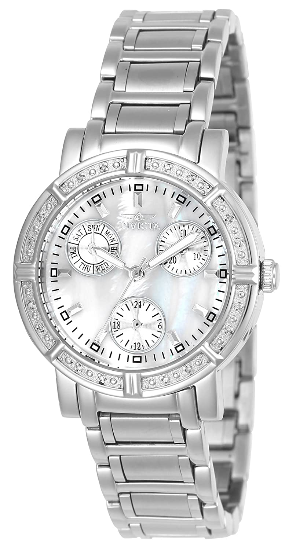 Amazon.com: Invicta Women's 'II' Swiss Quartz Stainless Steel Dress Watch,  Color:Silver-Toned (Model: INVICTA-4718): Invicta: Watches