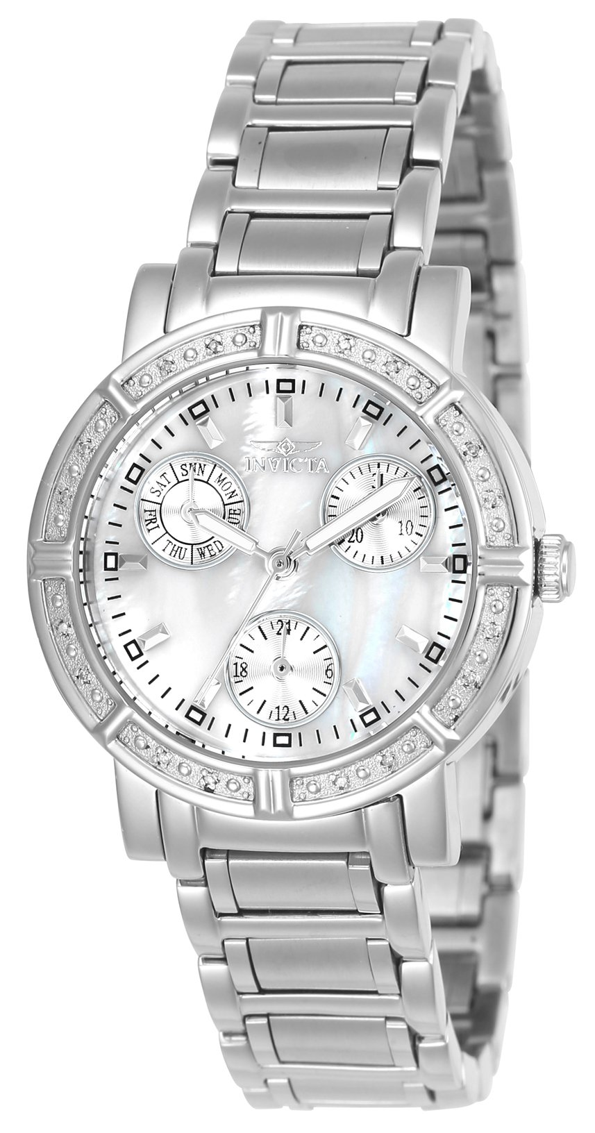Invicta Women's 4718 II Collection Limited Edition Diamond Chronograph Watch by Invicta