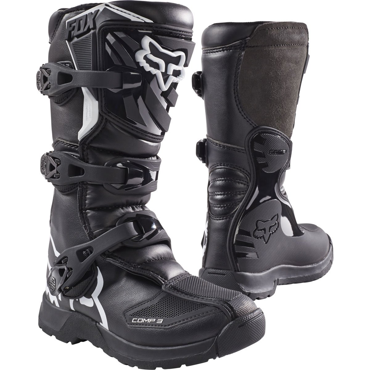 2018 Fox Racing Youth Comp 3 Boots-Y1