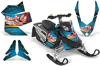 CreatorX Ski-Doo Rev Xp Snowmobile Sled Graphics Kit Wrap