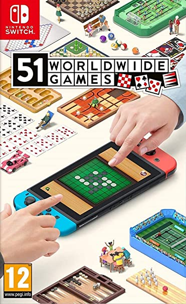 51 Worldwide Games Standard | Nintendo Switch - Código de descarga: Amazon.es: Videojuegos