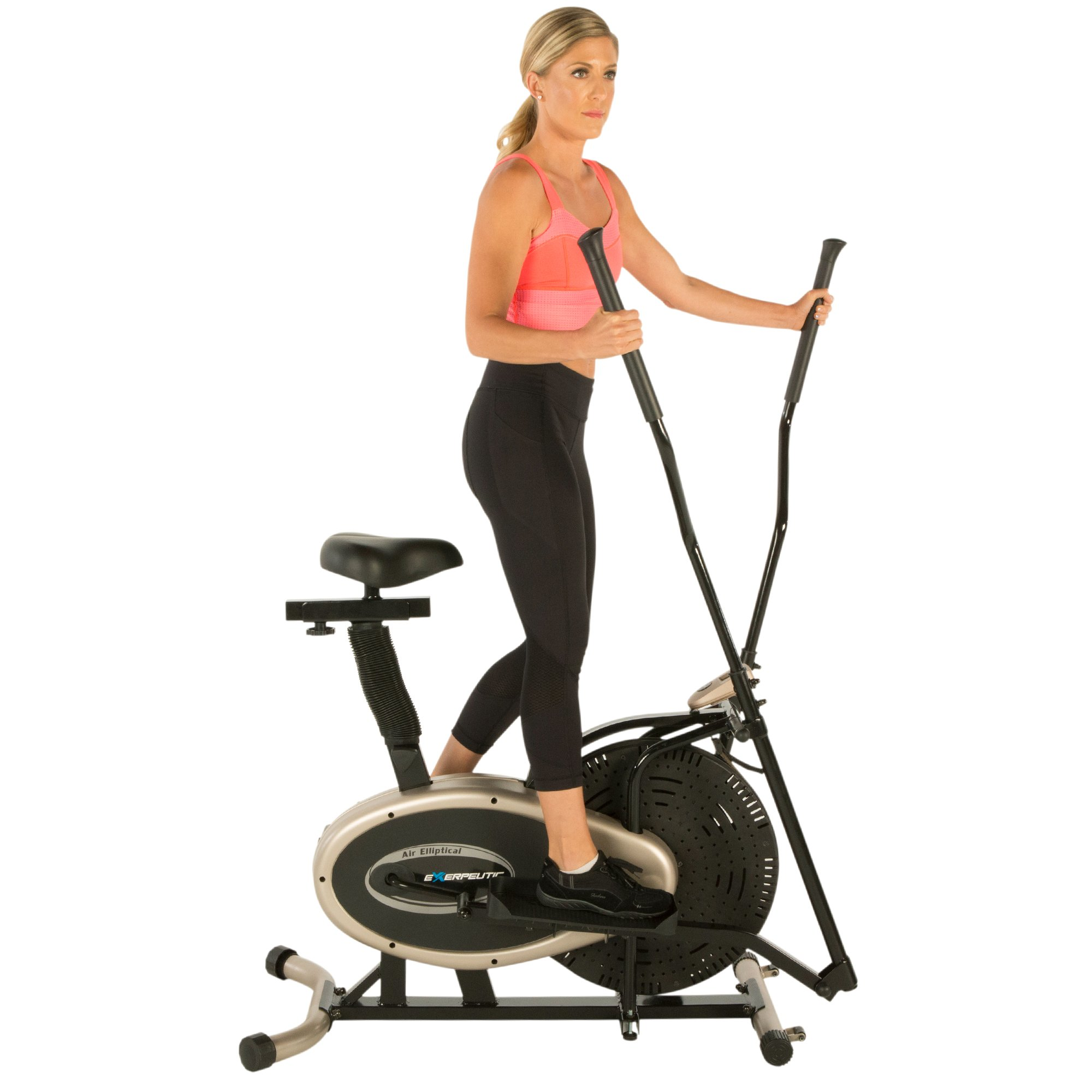 Exerpeutic Gold Elliptical and Exercise Bike Dual Trainer by Exerpeutic (Image #3)