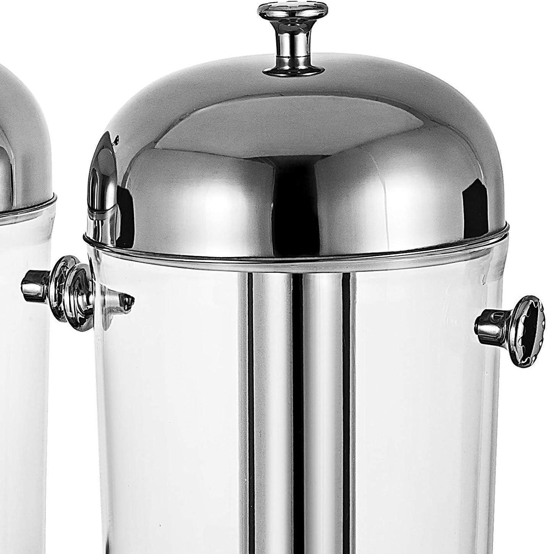 VBENLEM 16L//4.2 Gallon Milk Juice Cold Drink Dispenser Parties Restaurants Hotels Buffets