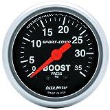 Auto Meter 3304 Sport-Comp Mechanical Boost Gauge