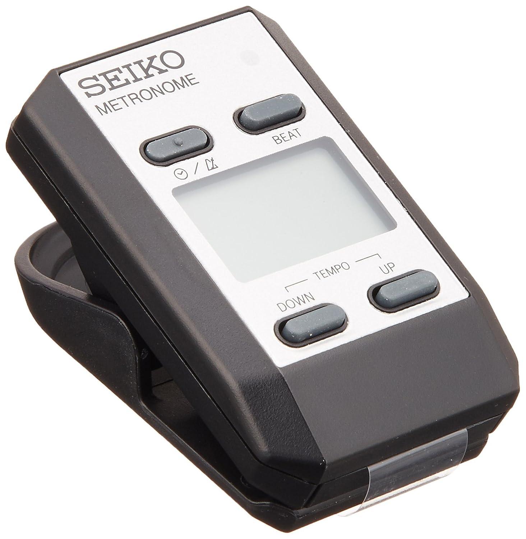 Seiko DM51SE Clip-On Metronome - Silver DM51SE