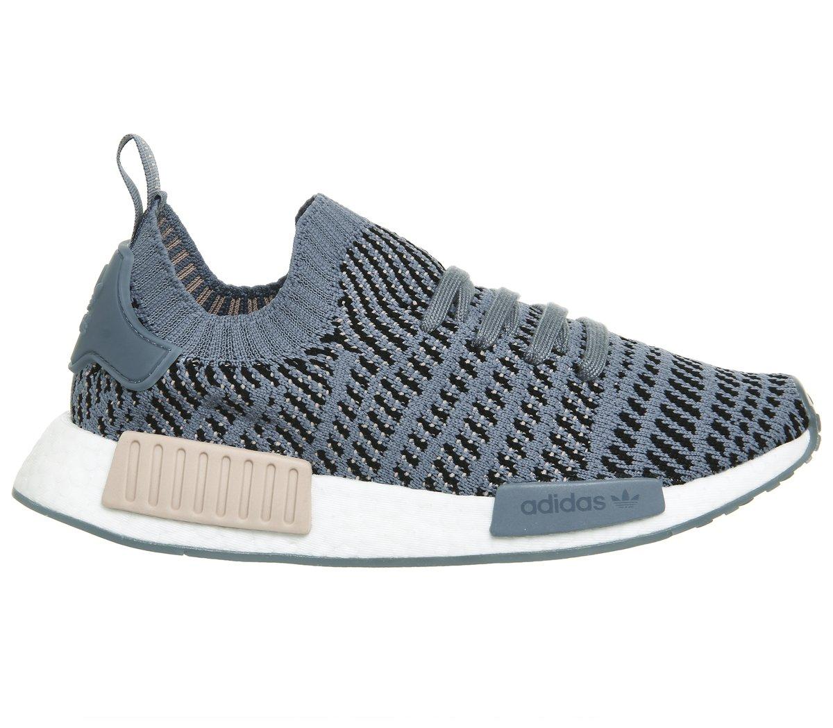 Adidas NMD_r1 Stlt Primeknit, Zapatillas para Mujer 37 1/3 EU|Azul