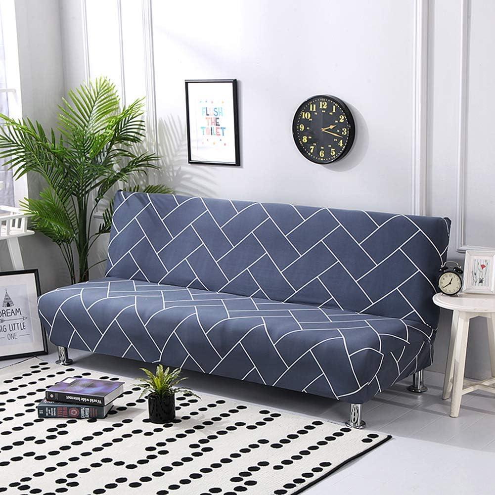 KongEU Funda elástica para sofá sin brazos, elástica ...