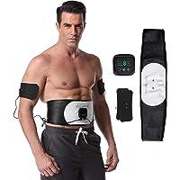 Electroestimulador Muscular Abdominales,Estimulador Mmuscular con USB,6 Modos,18 Niveles Diferentes Electroestimulador…