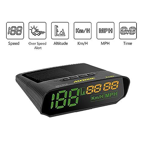 Amazon.com: AUTOOL - Velocímetro universal para coche, GPS ...