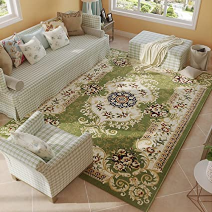 amazon com maxyoyo european beautiful floral carpet rug, soft plushimage unavailable