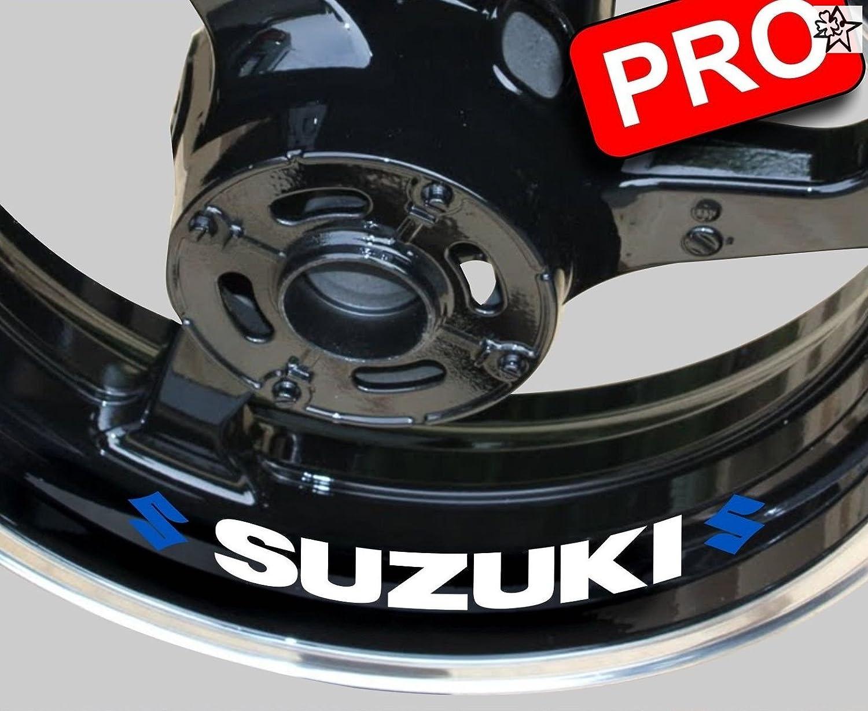 8 Liseret Jnte Sticker Motorrad Suzuki Aufkleber Bike Motorrad Felge Felgen Innenrandaufkleber