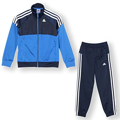 a1a1fa1b Image Unavailable. Image not available for. Colour: adidas Boy's YK Warm Up  Tracksuit ...