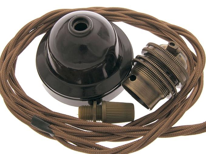Lampadario Rosa Emporium : Art deco emporium kit per lampadario a sospensione in bachelite e