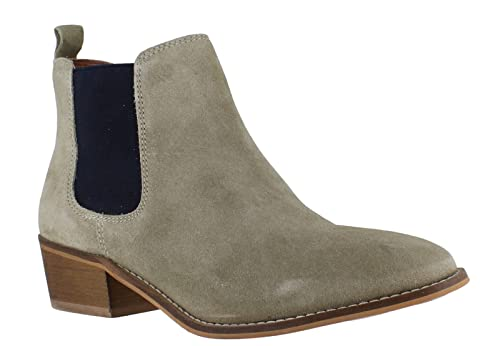 8002e48159a4f9 Silver Street Womens Mid Low Heeled Chelsea Dealer Pull On Ankle Boots   Amazon.co.uk  Shoes   Bags