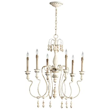 Amazon cyan design 05713 chantal six light chandelier home cyan design 05713 chantal six light chandelier aloadofball Images
