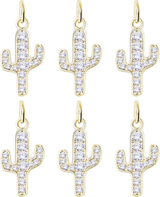 BULK Charms Cross Charms Shiny Gold Wholesale Charms 50 pieces Religious