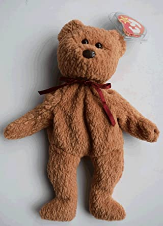 0a791c911f7 Image Unavailable. Image not available for. Color  Ty Beanie Babie  quot  Curly the Bear quot  Retired and VERY RARE with 8 ERRORS