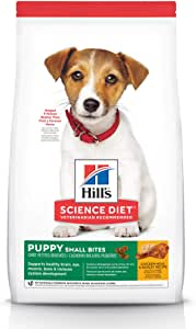 Hill's Science Diet Puppy Small Bites Chicken Meal & Barley Recipe Dry Dog Food 2kg Bag