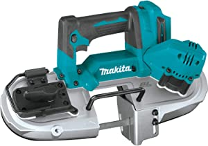 Makita XBP04Z 18V LXT Lithium-Ion Compact Brushless Cordless Band Saw, Tool Only