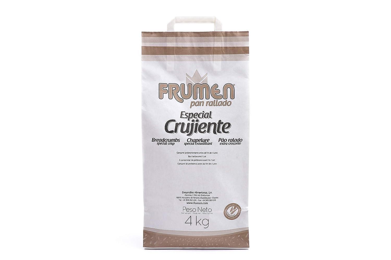 Frumen Pan Rallado Crujiente Bolsa 4 kg: Amazon.es: Alimentación y ...