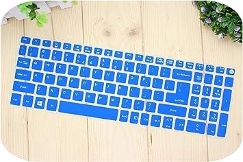 Protector de teclado de silicona para Acer Aspire E15 E 15 E5 ...