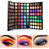120 Colors Mini Professional Eyeshadow Palette Matte and Shimmer -3 Layers Bright and Warm Colorful Eye Shadows Makeup Pallet