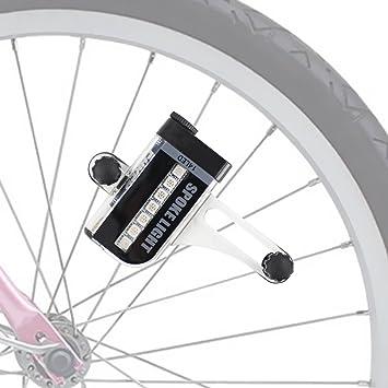 Almondcy 14 LED motocicleta ciclismo bicicleta señal de rueda de ...