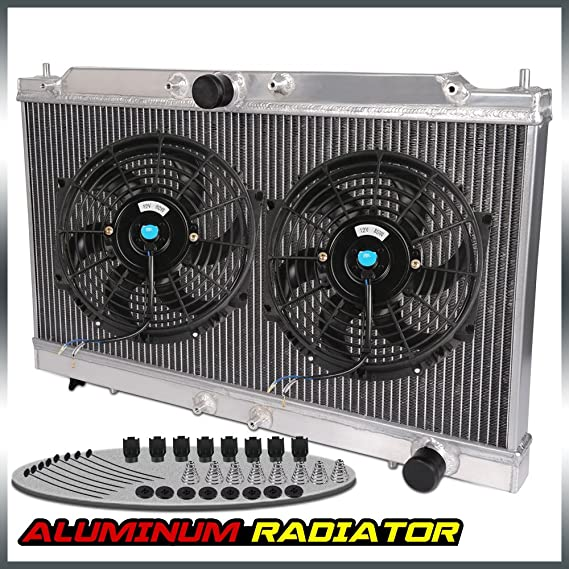 Amazon.com: Aluminum Racing Radiator For 95-99 ECLIPSE GS-T GSX TURBO 2G MT/MANUAL + 10