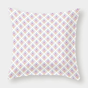 Amazon.com: iPrint Microfiber Throw Pillow Cushion Cover ...