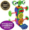 The Learning Journey Techno Gears STEM Construction Set - Wacky Robot (60+ pieces) - Learning Toys & Gifts for Boys & Girls Ages 6 Years and Up