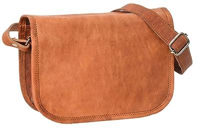 f3822c518c Leather Shoulder Bag Gusti Leder nature  quot Summer 7.9 quot  Handbag  Purse Cross Body Bag