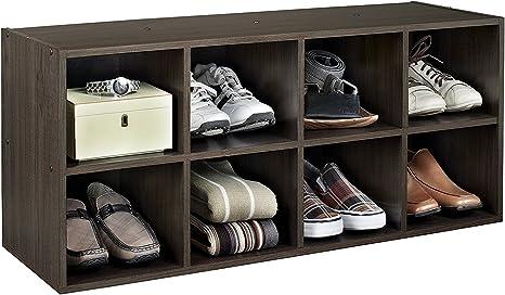 Amazon Com Closetmaid 5081 Shoe Station Espresso Home Kitchen
