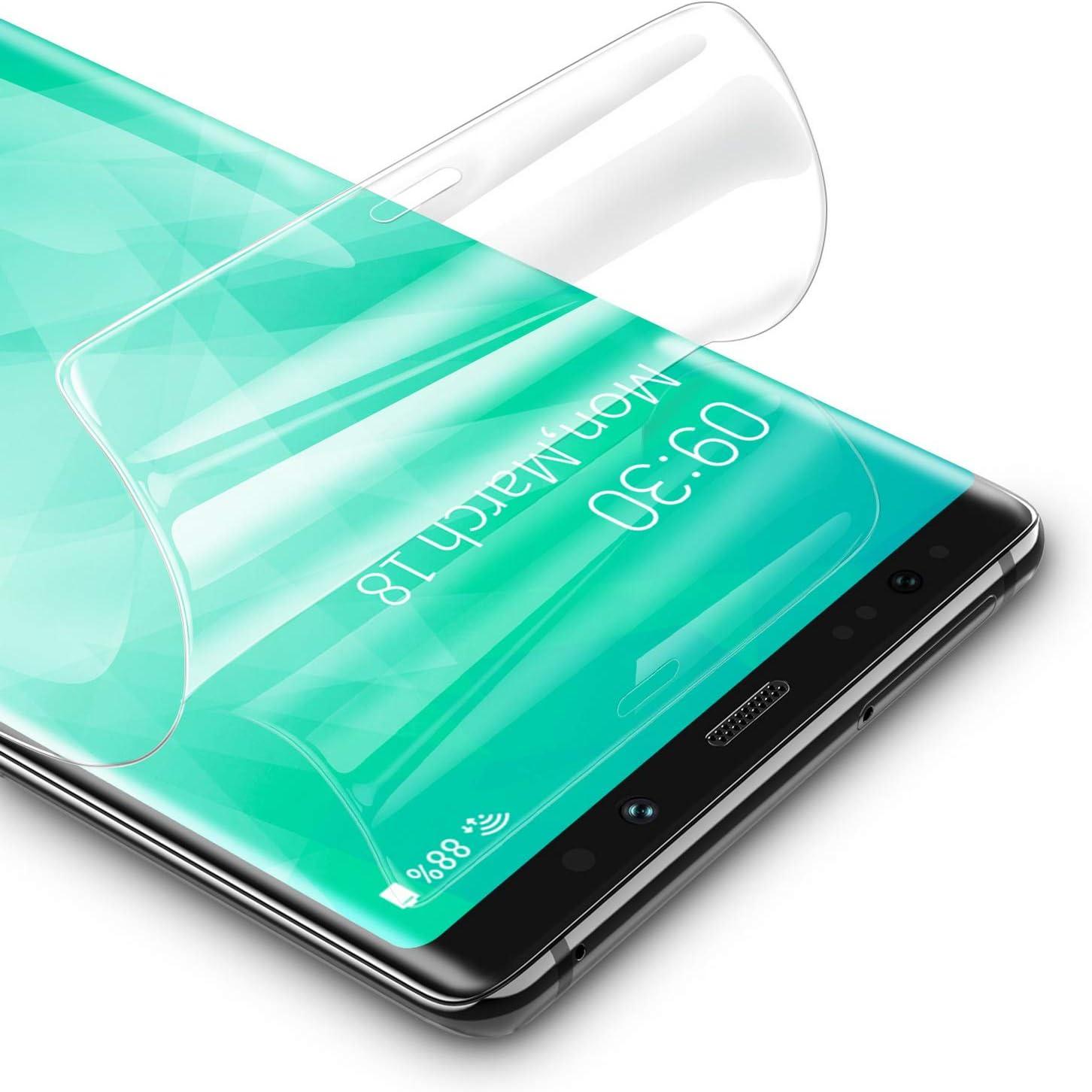 RIWNNI [3 Unidades Protector Pantalla para Samsung Galaxy Note 9, Ultra Fino Soft TPU Película Alta Definicion Cobertura Completa Protector de Pantalla para Samsung Galaxy Note 9: Amazon.es: Electrónica