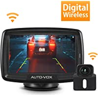 Auto-Vox CS-2 Wireless Backup Camera Kit with Stable Digital Signal, 4.3