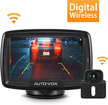 Auto-Vox CS-2 Wireless Backup Camera Kit With 4.3