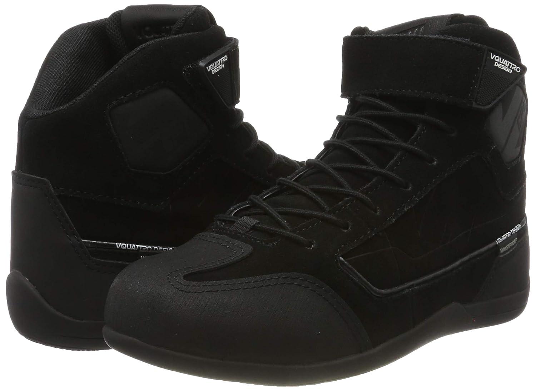 36 EU Schwarz V Quattro Design GP4 WP Schuhe Herren V4S-GP4WP-BK36