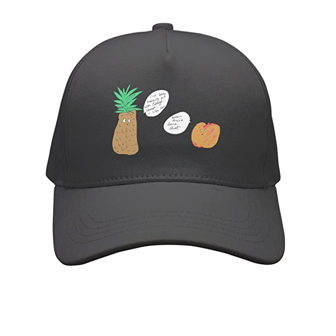d3b76337154cc Personalized Pineapple And Peach Trucker Hat Plain Adjustable Best Cap   Amazon.ca  Clothing   Accessories