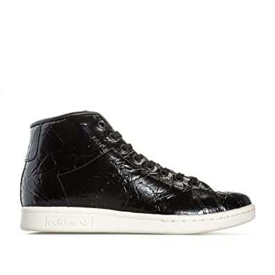 adidas Originals Baskets Montantes Stan Smith Noir Femme