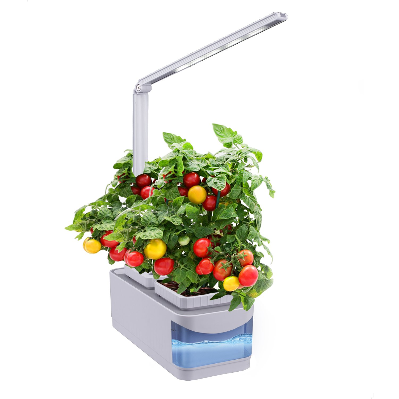 aibsi indoor herb garden hydroponics watering growing system organic home herbs gardening kit. Black Bedroom Furniture Sets. Home Design Ideas