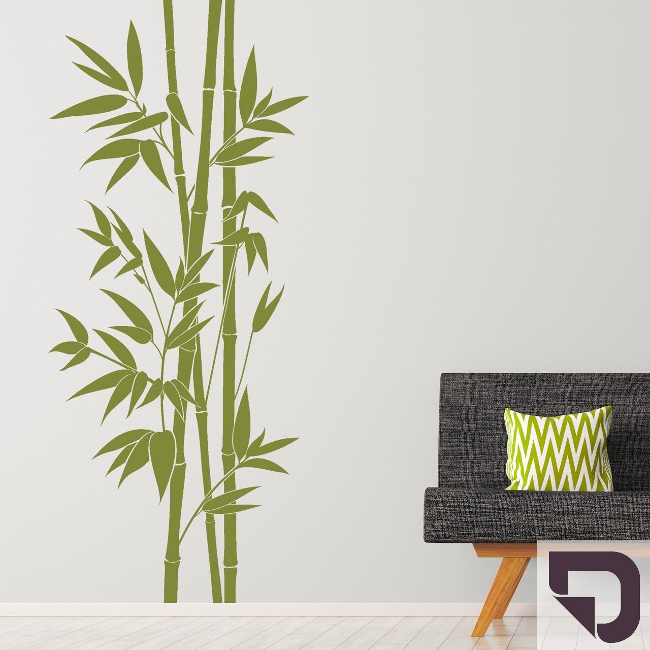 DESIGNSCAPE® Wandtattoo XXL-Bambus     Wandtattoo Pflanze Bamboo 113 x 260 cm (Breite x Höhe) weiss DW804164-L-F5 B072LNGM4M Wandtattoos & Wandbilder 6c5819